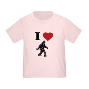 CafePress-I-LOVE-SASQUATCH-BIGFOOT-T-SHIRT-T-Shirt-Toddler-T-Shirt-803104851