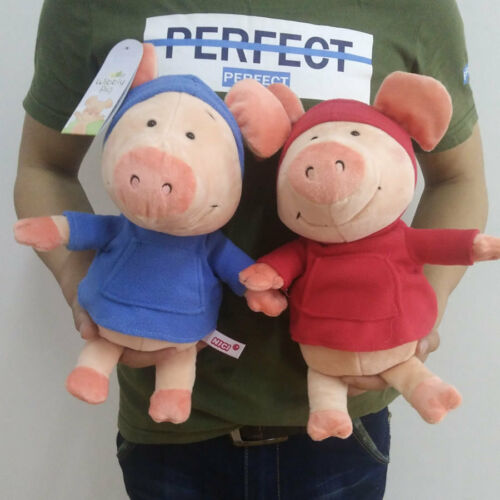 Small Size WIBBLY PIG SOFT Animal Plush Toy Doll 12High TWO Color Gift