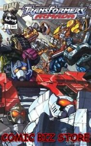 TRANSFORMERS-ARMADA-1-2002-1ST-PRINT-BAG-amp-BOARDED-DREAMWORKS-COMICS