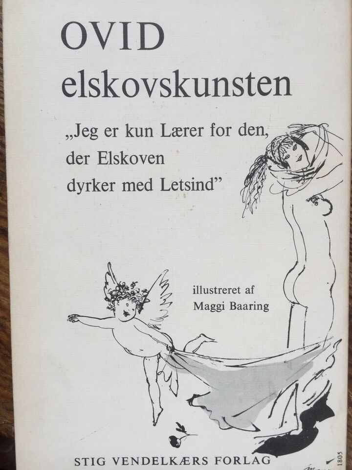 2 x OVID - Elskovskunsten + Tre Klagesange, PUBLIUS OVIDIUS