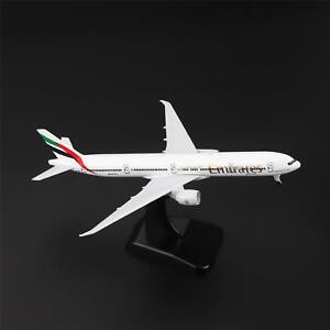 20cm-BOEING-777-300ER-Air-Emirates-Airlines-Aircraft-Plane-Diecast-Model