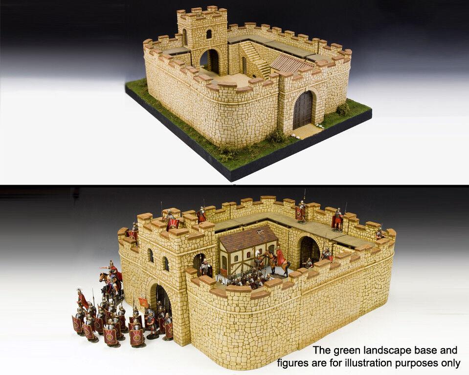 King & Land Roman Empire RF007S Komplett Roman Festung Sandstein MIB
