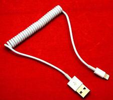 iPhone 6 6s 7 iPad Air Air 2 USB Spiral Datenkabel Datacable Kabel Ladekabel