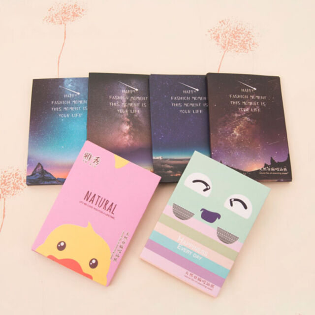 50 Sheets Make Up Oil Absorbing Blotting Facial Face Clean Paper Beauty P&C