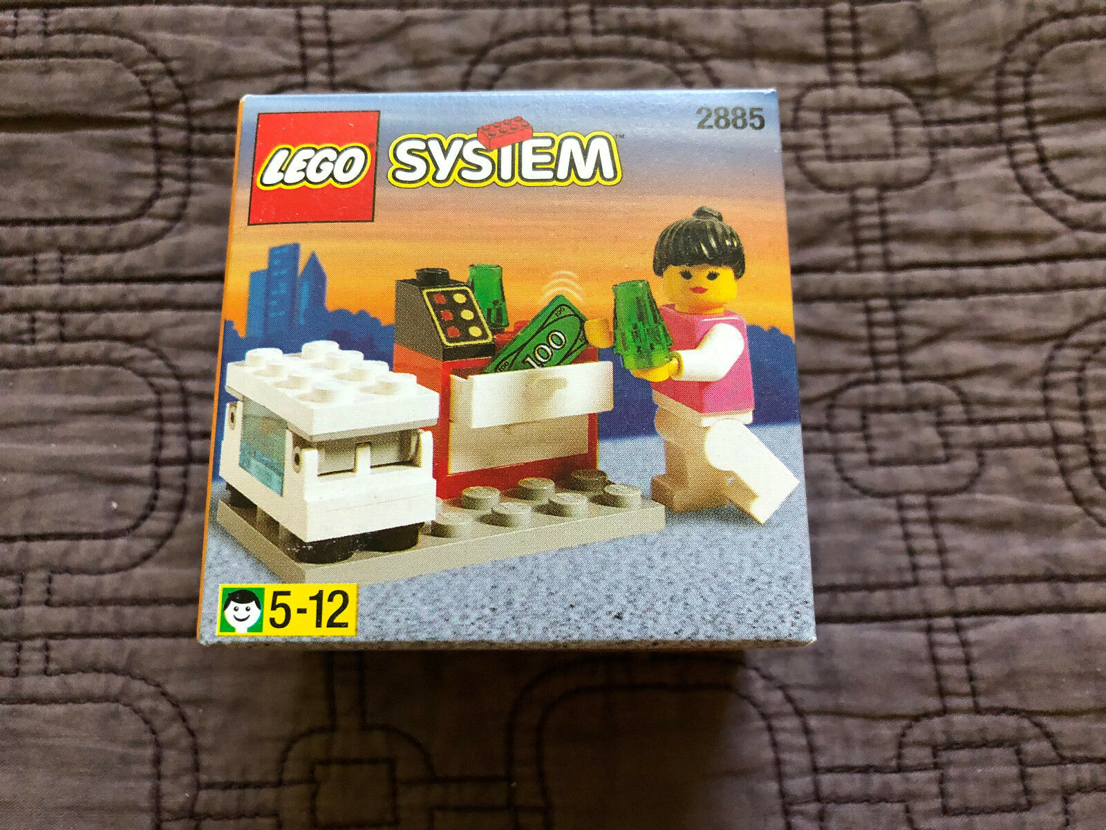 LEGO 2885 2885 2885 Ice Cream Seller Town New Sealed 370a74