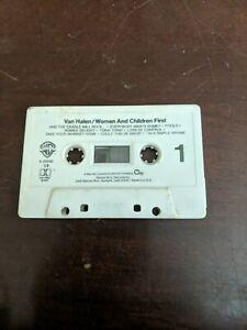 Van-Halen-Women-And-Children-First-Cassette-Tape-ONLY-Warner-Bros