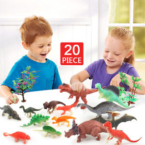 Multicolor Papo The Land of Dinosaurs Playset