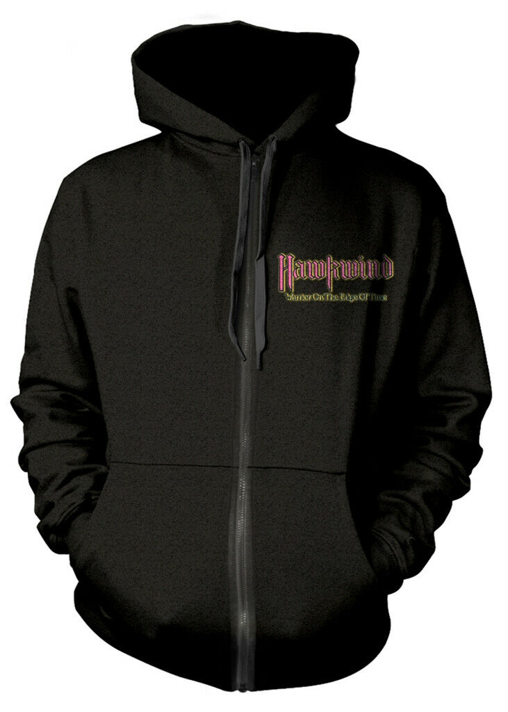 Hawkwind 'Warrior On The Edge Of Time' Zip Up Hoodie - NEW & OFFICIAL