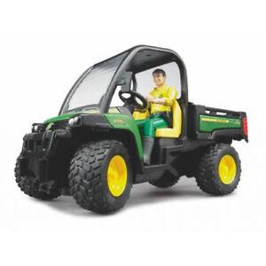 Bruder-02490-John-Deere-Gator-8550-mit-F-Toys-Spielzeug-John-Deere-NEW