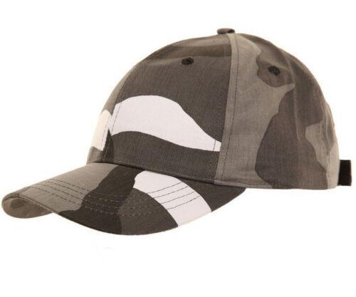 Boys Girl Childrens Hat Kids Army Military Cap Baseball Camouflage Camo 6-12 Yrs