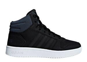 Adidas-HOOPS-MID-2-0-F35797-Nero-Scarpe-Donna-Bambino-Sneakers-Ginnastica