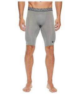 Nike-Men-039-s-Pro-Dri-FIT-Compression-Shorts-in-Grey-11405-Size-S