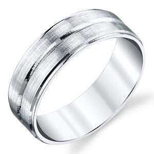 925-Sterling-Silver-Mens-Wedding-Band-Ring-size-8-9-10-11-12-13-SEVB017