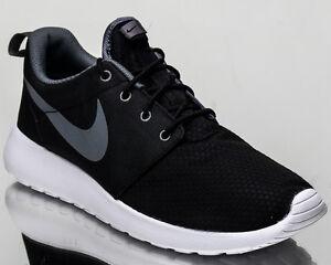 Details zu Nike Roshe One Se Herren Lifestyle Sneakers Rosherun Neu Schwarz Grau 844687 004