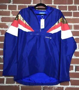 0d6ec601 Details about Adidas Originals Men's Fontanka Jacket Blue Red Gold White  CX4752 Size M $140