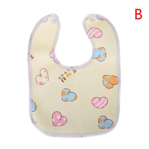 1pcBavoir bébé coton alimentation dessin animé mignon alimentation servietteTRFR