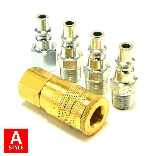 """1//4/"""" NPT Air Hose Fittings Aro 210 A Style Quick Couplers Tools MADE IN THE USA!"""