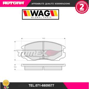 1291-Kit-pastiglie-freno-a-disco-ant-Daihatsu-Mitsubishi-MARCA-WAG