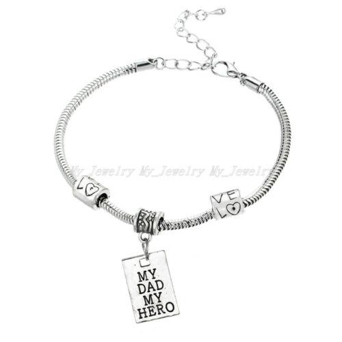 Bracciale braccialetto Gioielli di famiglia Cuore Zampa Animale Domestico MADRE FIGLIA FIGLIO NONNA BFF