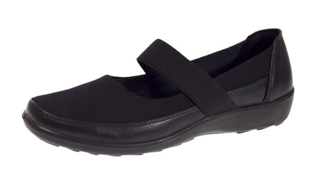 Womens Stretch Elastic Strap Work Shoes Comfort Girls School Shoes ... 1856d8ff56