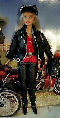 1997 Harley Davidson Blonde Barbie Doll  #1 Mattel Limited Edition