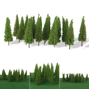 Details about 50X Trees Model Train Railroad Wargame Diorama Scenery  Landscape HO OO Scale