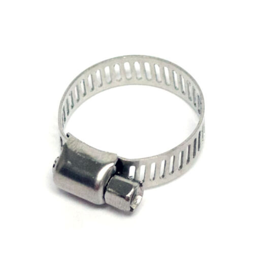 """1-1//4/"""" Stainless Steel Hose Clamps Pack of 10-8mm thick"""