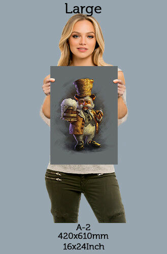 Dwarf man beer aa Metal Plate Picture Metal wall art  A1 A2 A3 A4 metal poster