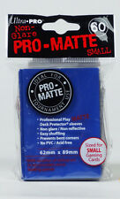 120 Ultra Pro Deck Protector Card Sleeves Pro Matte Blue Small Yugioh