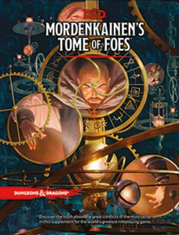 Dungeon e Draghi Rpg - Mordenkainens Tome Of Foes