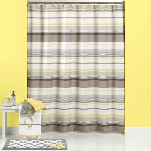 Garden Curtains NEW Saturday Knight Spring Garden Gray and Yellow ...