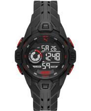 Orologio PUMA BOLD P5042 Silicone Nero Digitale Chrono Alarm Dual Time
