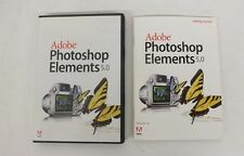Adobe Photoshop Elements 5.0 Full Version w/Serial Number Fast Shipping LOOK