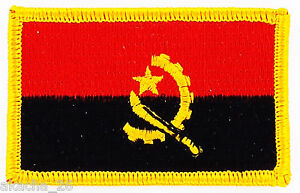 Patch Ecusson Brode Drapeau Angola Insigne Thermocollant Neuf Flag Patche C7zjzoeh-08003921-207864196