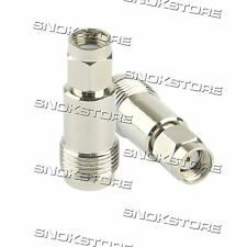 ADATTATORE CONNETTORE RP-SMA TO TNC FEMALE ADAPTER CONNECTOR COAXIAL GOLD RF