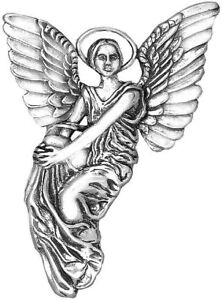 Thayer-Angel-Sterling-Silver-Ornament-Hand-amp-Hammer-2-034-High