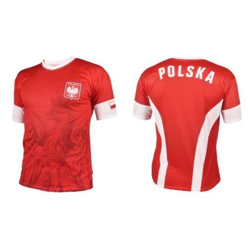 T-shirt Football  Polska Poland 2019 koszulka kibica Promo!!