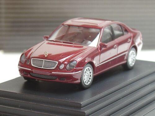 rojo oscuro-dealer PC 1334-1:87 Wiking mercedes clase e
