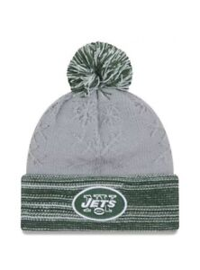 5783b71e9 Details about New York Jets New Era Women's Snow Crown Redux Cuffed Knit  Hat - Gray