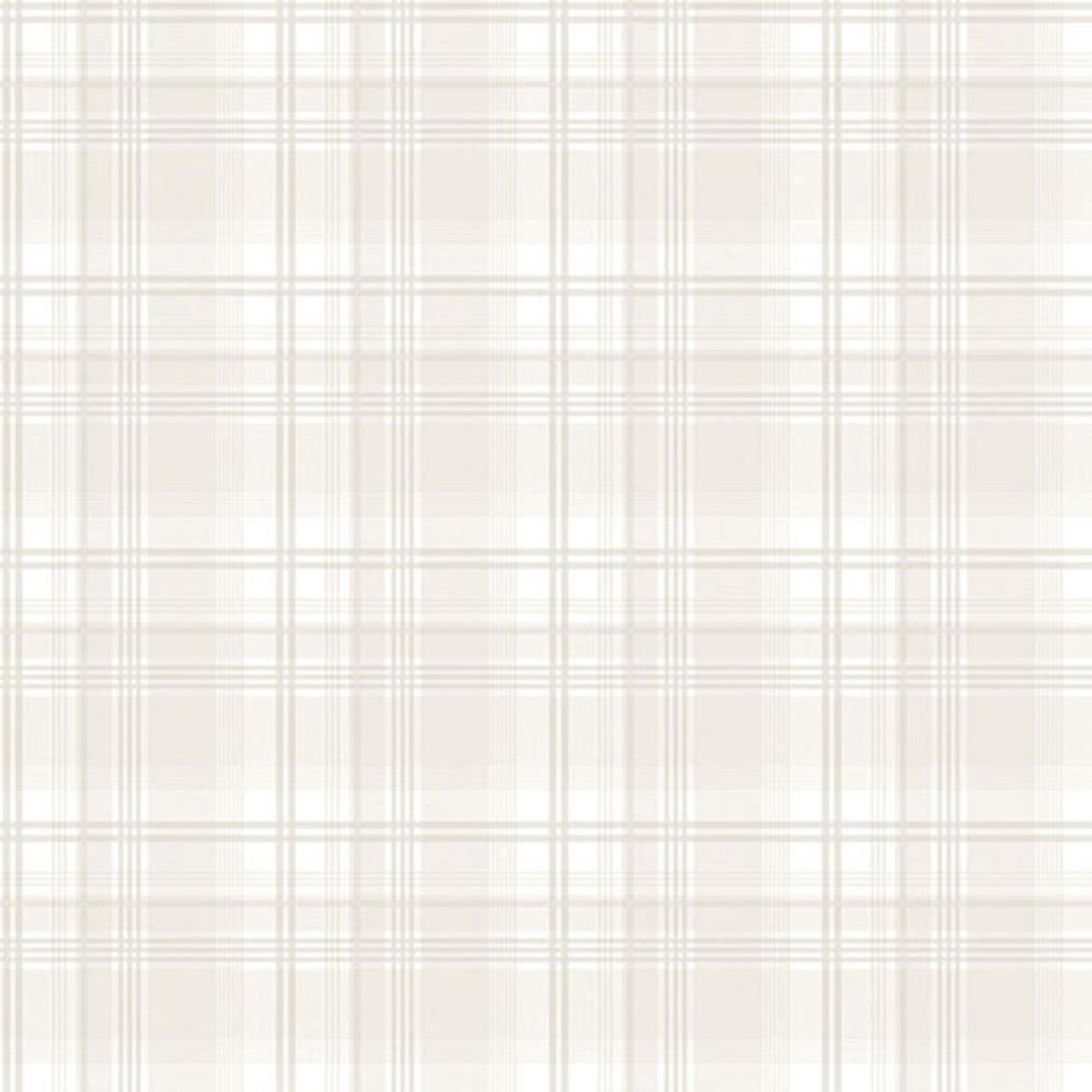 G45073 - Vintage pinks Plaid Beige Galerie Wallpaper