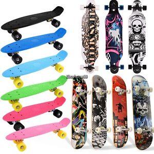 Verrassend Unisex Complete Skateboard Skate Board Longboard Penny Board 22 ST-53