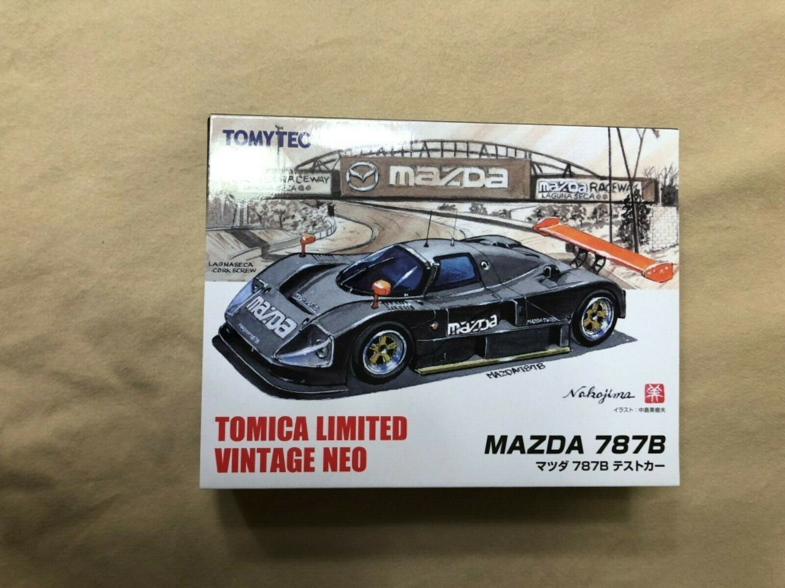 Tomica Limited Vintage Neo 1//64 290094 Anfini Mazda 787B Green Finished Item NEW