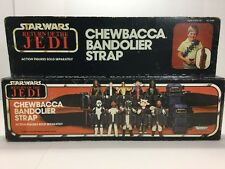 Vintage Star Wars Chewbacca Bandolier Strap Sealed New 1983 Kenner