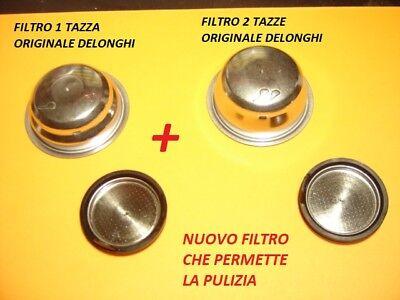 SCULTURA ECT... DELONGHI FILTRO 2 TAZZE MACCHINA CAFFE/' DEDICA ICONA