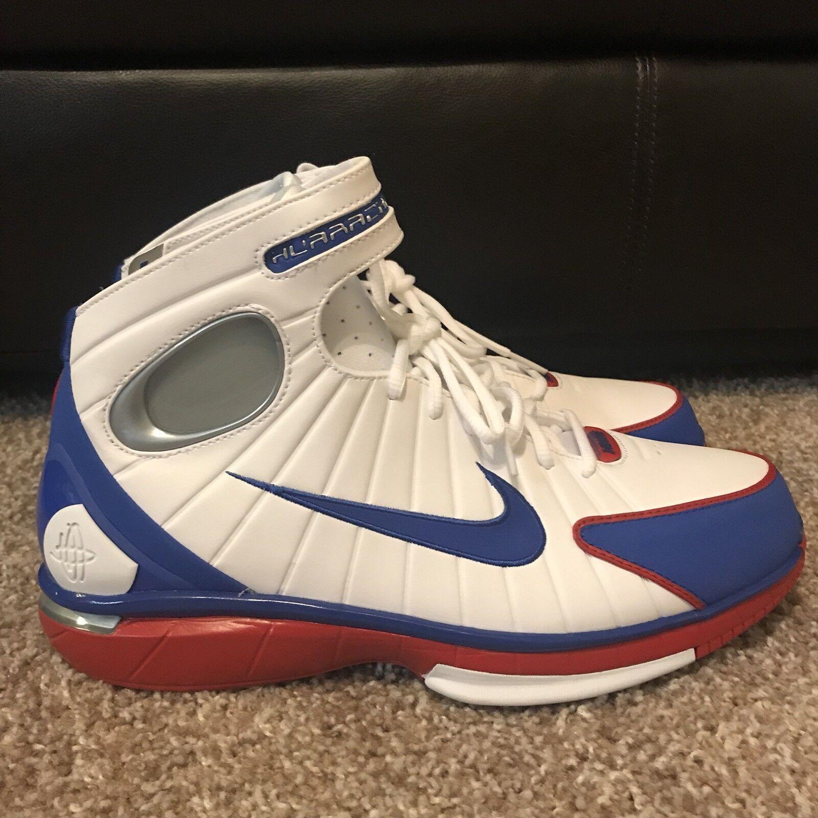 Nike Air Zoom Huarache 2K4  All Star  Men's Basketball Sneakers 308475-100 SZ 11