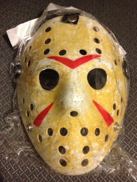 Jason Hockey Horror Deluxe Mask Khaki Surewells Renineic Friday The