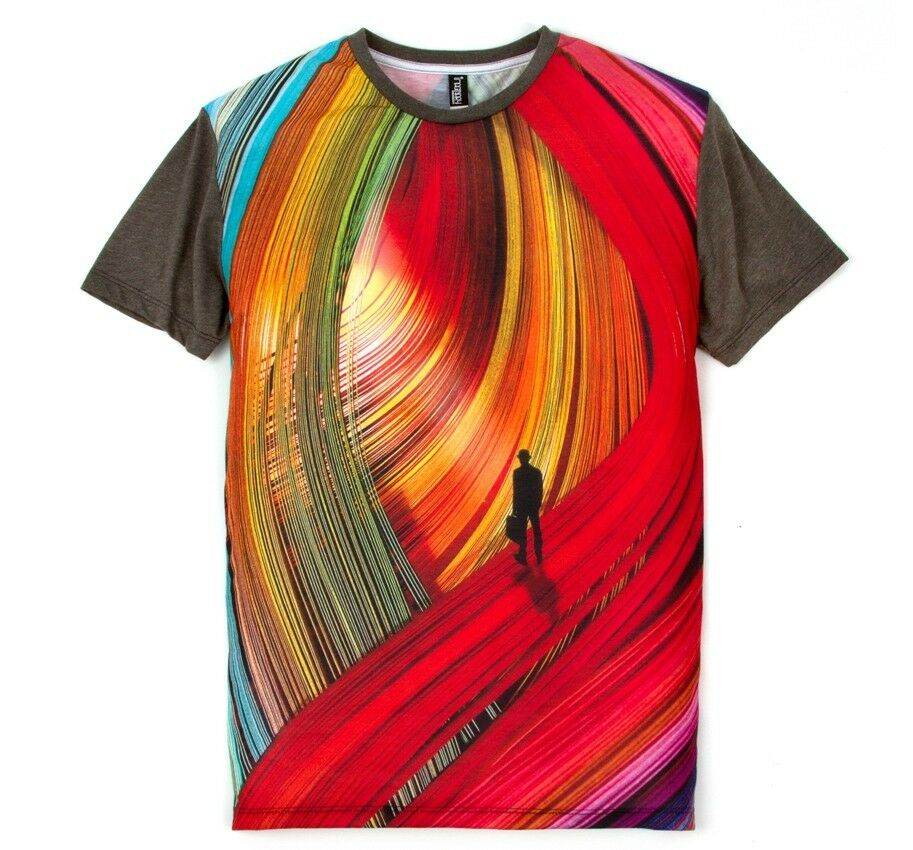 Imaginary Foundation Foundation Foundation sublimazione T-shirt Fibre Stampa a Colorei Taglie  S M XL 4bebb4