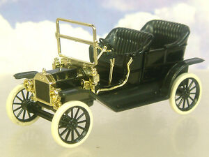 Details about NICE C I L  MODELS 1/43 EARLY 1900s FORD MODEL T CAR IN BLACK
