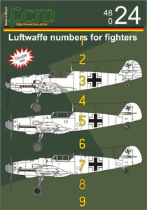 decal 1//72; 1//48; 1//32 Multi Scale from FCM German Luftwaffe Swastikas for WW2