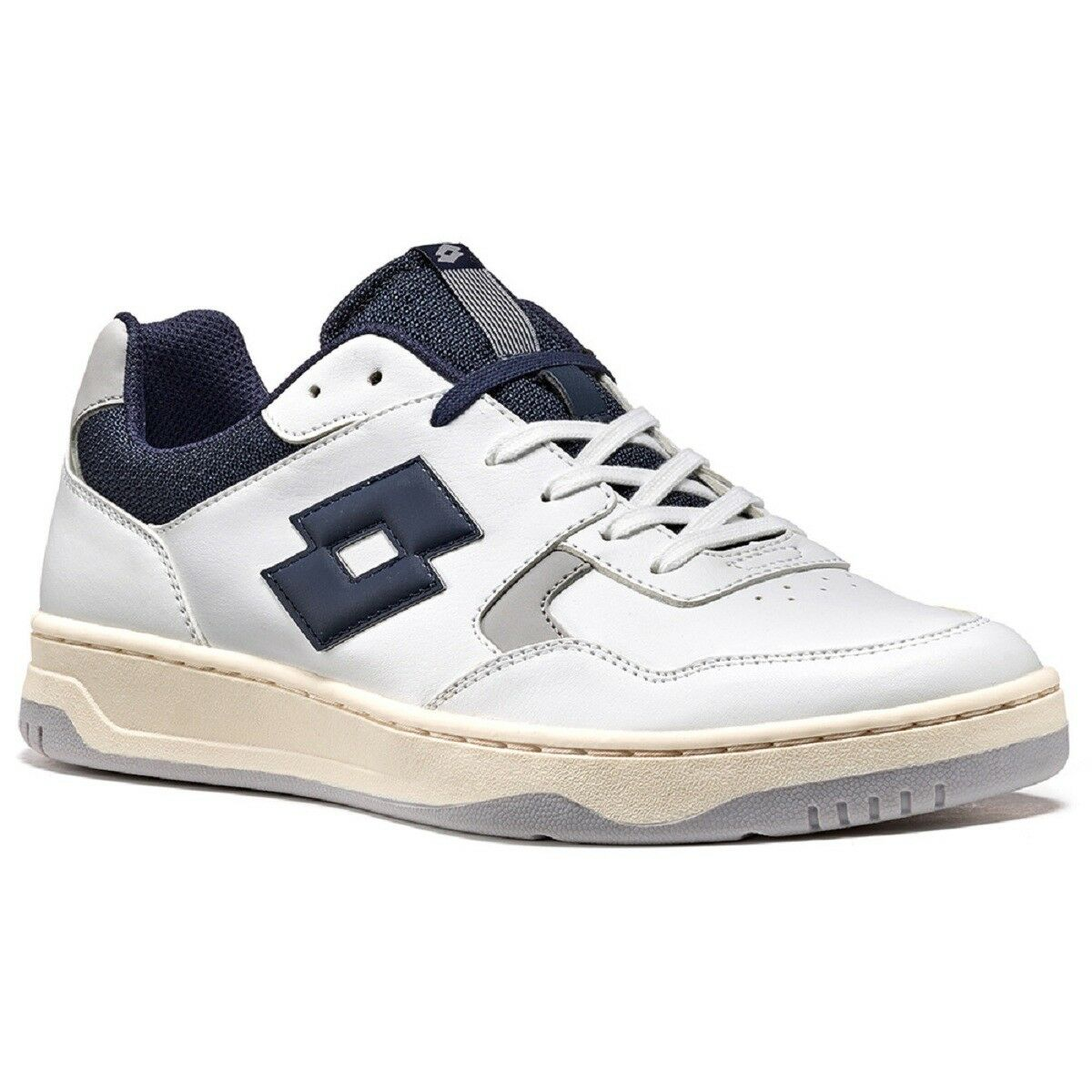 LOTTO T3943 Tracer White-Blu SNEAKERS MAN - Scarpe sportive uomo Running Shoes